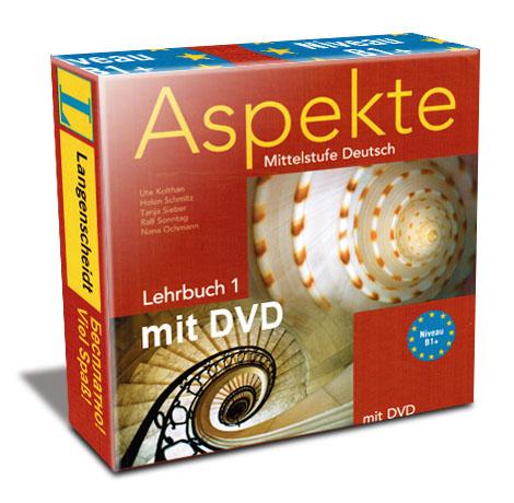 Aspekte Mittelstufe Deutsch B1 mit DVD