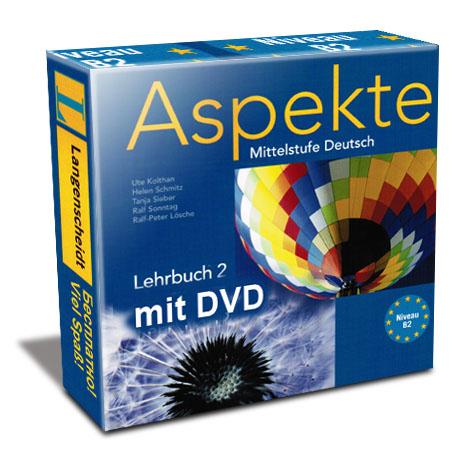 Aspekte Mittelstufe Deutsch B2 mit DVD